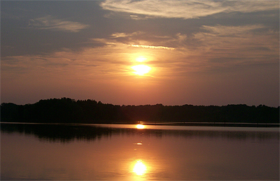 Lake Palestine, East Texas